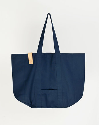 PROUDLY DESIGNED, Regular Street Bag - Granatowa