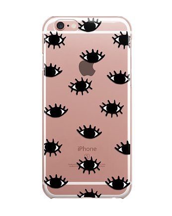 iphone 7 case, Oczy iPhone case ETUI SILIKONOWE obudowa Eyes