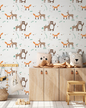 Motif, Tapeta Forest friends