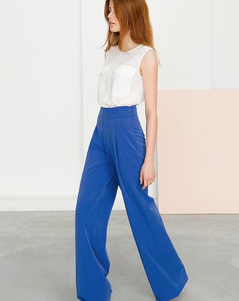 spodnie szwedy z wysokim stanem risk