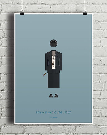 Bonnie and Clyde - plakat