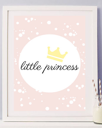 princess, plakat little princess