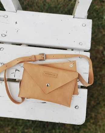 Alicja Getka LAB, Belt Pouch L Natural