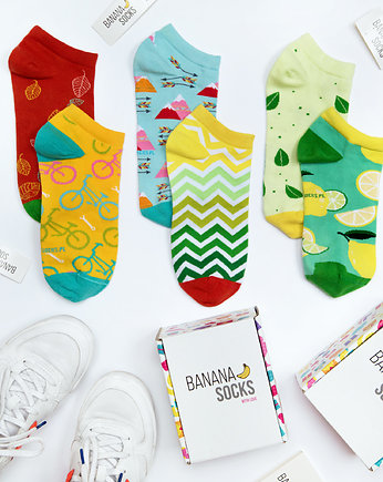 Banana Socks, Good Vibes - zestaw stopek BANANA SOCKS