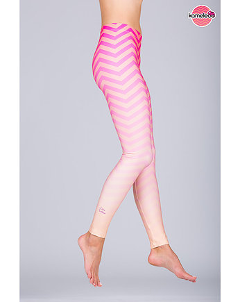 travel, Legginsy Ziko Zakoo High - Pink
