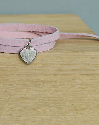 barboleta, mini pink love colour silver