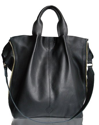 Torba gigant, GALAXY ZIPPER BAG Black