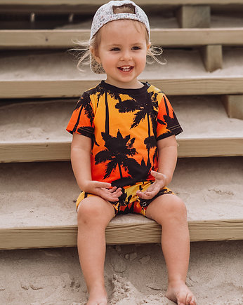 Kruszonka baby wear, Rampers TROPIC