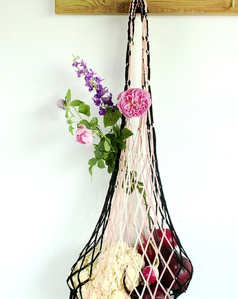 Net grocery bag, Macrame bag