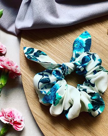 Bunny Scrunchie Bluebell - gumka do włosów