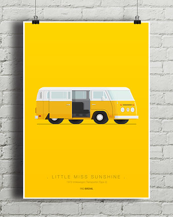 kino, Little Miss Sunshine - VW Transporter - plakat