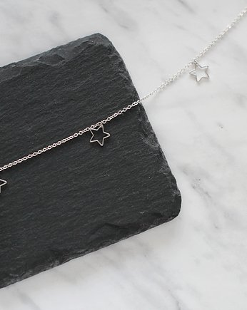 Co na Dzień Mamy?, Rhodium Plated Star Choker Necklace