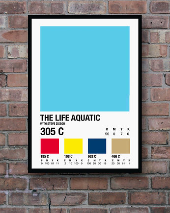 The Life Aquatic - plakat