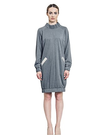 Bomber dress Gray
