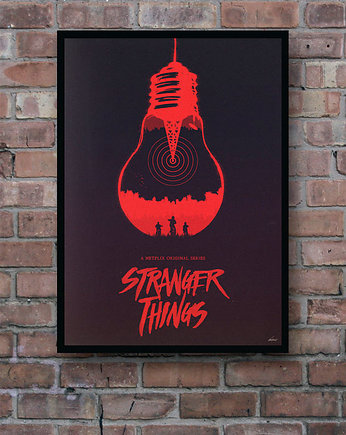 plakaty, Stranger Things - plakat