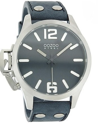 Zegarek OOZOO Steel OS260 grey/blue