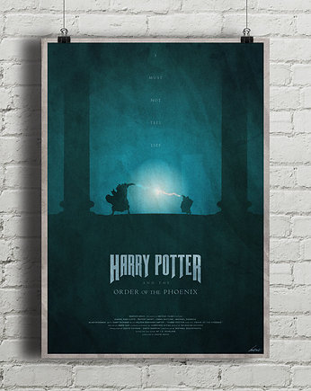 Harry Potter i Zakon Feniksa - plakat