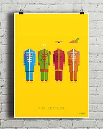 minimalmill, The Beatles - Sgt. Pepper's... - plakat