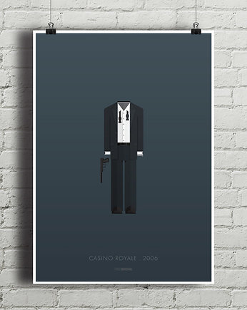 James Bond - Casino Royale - plakat