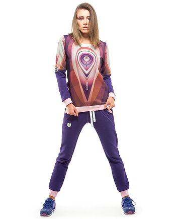 OKUAKU, Orbit Sweatshirt (Violet)