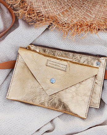 Alicja Getka LAB, Belt Pouch L Gold