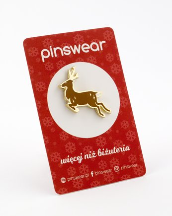 PINSWEAR, Pins Renifer