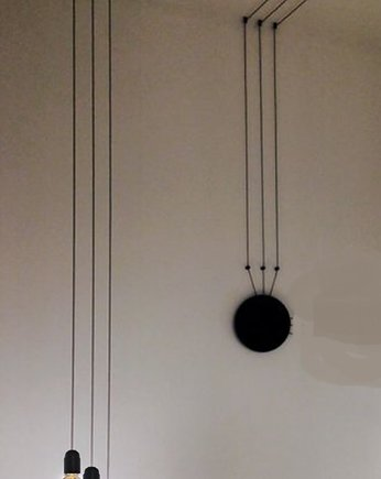 4FunDesign, Lampa Cable Wall black