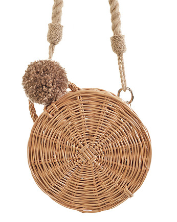 Koszyk Ladybag Wicker Basket no. 3 with rope