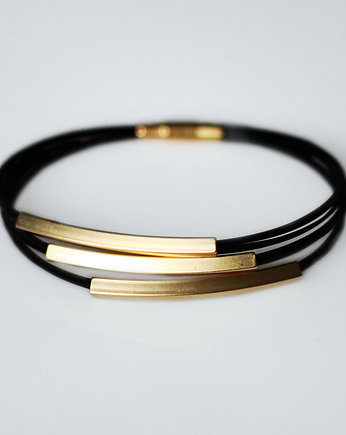 Bransoleta Gold in Black