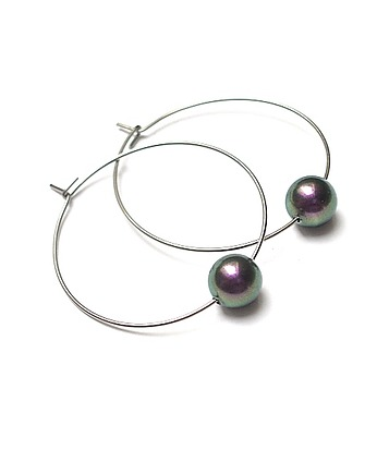 stal, Alloys Collection /one pearl/green -violet