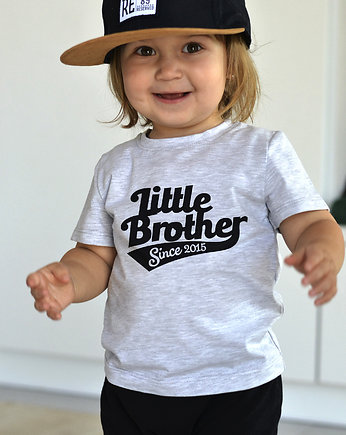Szara koszulka LITTLE BROTHER t-shirt