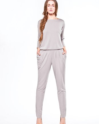 New Grey JUMPSUIT-KOMBINEZON