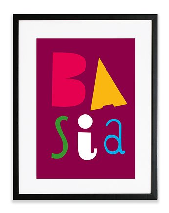 decoration, #basia #1 PLAKAT A4