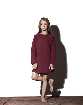 Pine Neckline Kids • Bordo