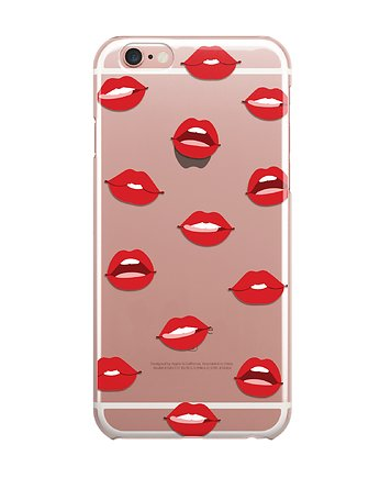 iphone 7 case, Usta iPhone Case ETUI SILIKONOWE Obudowa Lips