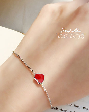 Ewa Saj  Silver, I like lub Love - MAKALIBOO COLLECTION bransoletka