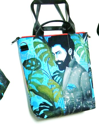 1787 art MIMA bag UNI & Marcin Painta print