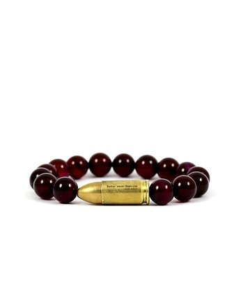Better Wear Than Use- Ruby Agate Bracelet