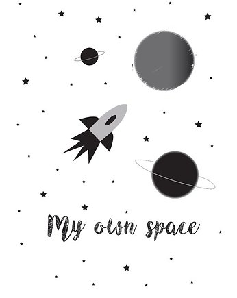 My Prints, PLAKAT MY OWN SPACE A3