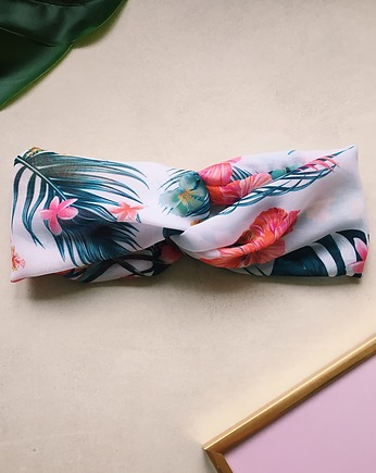 do włosów, Palm Tree Headband - Opaska