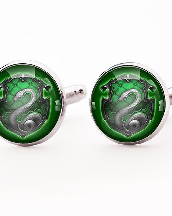 Slytherin - spinki do mankietów - 0340