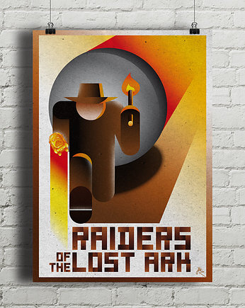 spielberg, Indiana Jones - Raiders Of The Lost Ark - plakat