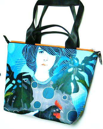 1782 art MIMA bag SHORT & Marcin Painta print