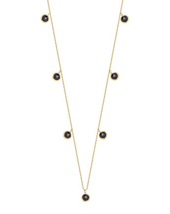 Alicja&Maria Jewellery, Choker Simple Black Gold