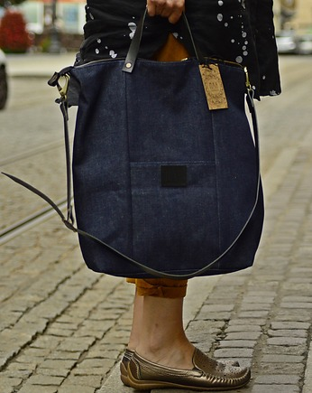 MAY, Shopper Jeans NAVY