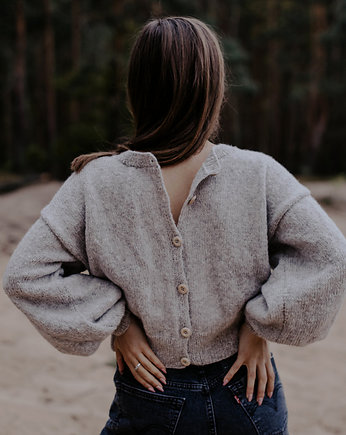 Wide Sleeves Sweater