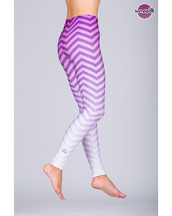 travel, Legginsy Ziko Zakoo High - Violet