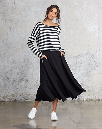 Flawless, MIDI BLACK skirt