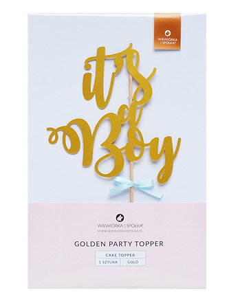 tort, Topper It's a Boy