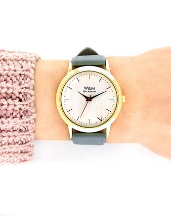 Zegarek 5AVE PINK MARBLE  Watch& Me